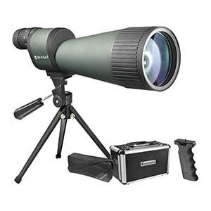 barska spotting scope review
